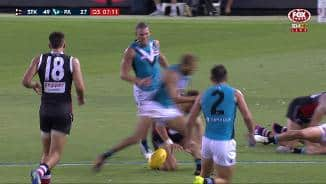 JLT: Krakouer in the book for high hit