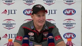 JLT: Bombers post-match presser
