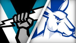Highlights: Port Adelaide v North Melbourne