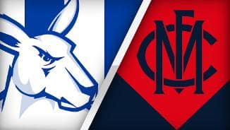 Highlights: North Melbourne v Melbourne
