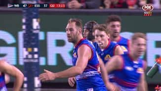 Cloke's stunning right-foot snap