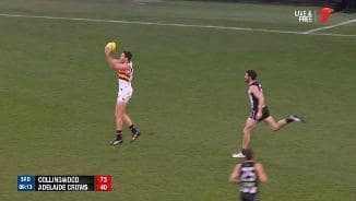 Sauce's big tackle and the Gov finishes