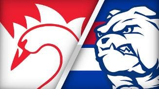 Highlights: Sydney v Western Bulldogs
