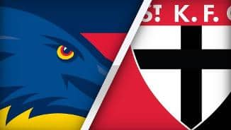 Highlights: Adelaide v St Kilda