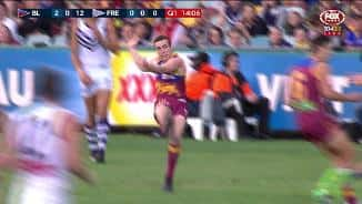 Dockers can't deny Lewy on the fly