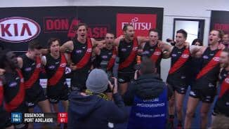 Team song: Essendon