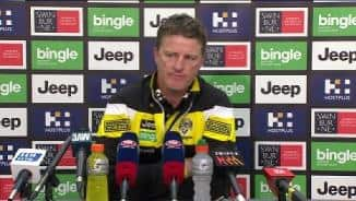 Round 13: Hardwick post-match