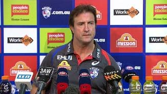 Post Match: Beveridge Press Conference (Rd13)