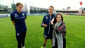 Curnow brothers welcome Tina Arena