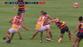 JLT: The tackle that could have gone wrong