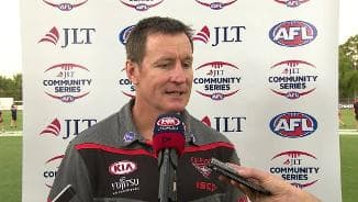 JLT Post-match: Essendon
