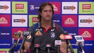 Post Match: Beveridge Press Conference (Rd1)