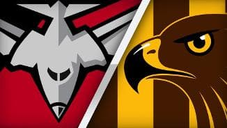 Highlights: Essendon v Hawthorn