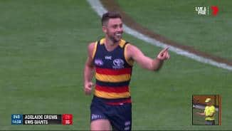 Adelaide Oval erupts for Atkins