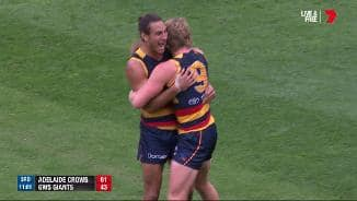Menzel slots his first as a Crow