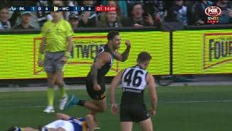 Wingard's wizardry gives Port its first