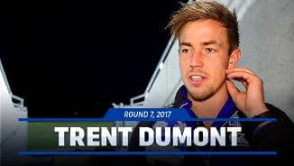 Rd 7, 2017: Dumont post-match
