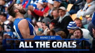 Round 7, 2017: All the goals
