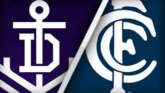 Highlights: Fremantle v Carlton