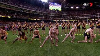 Dreamtime ceremony fires up the 'G