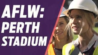 #LadiesFirst at Perth Stadium