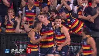 JJ gets the Crows party started