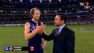 Rd 2: Mundy post-match