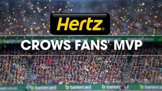 Hertz Crows Fans' MVP: Round Two