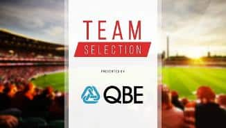 Team Selection - Rd 3, 2018