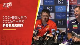 SUNS TV: Combined Coaches Presser