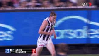 The Pies turn defence into attack