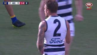 Tuohy thumps a monster drop punt