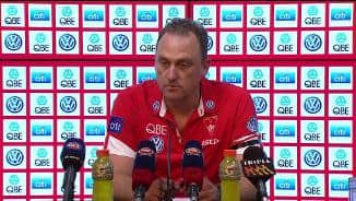 Longmire post match - Rd 4, 2018