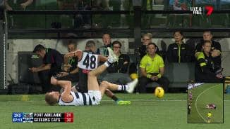 Thomas reported for Selwood hit
