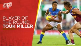 SUNS TV: Player of the Round - Touk Miller