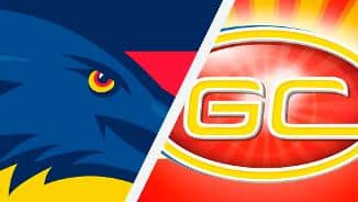 Highlights: Adelaide v Gold Coast
