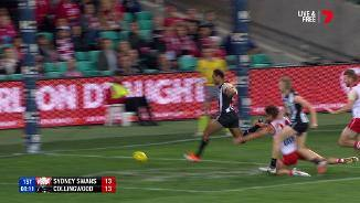 Speed to burn for Varcoe's third
