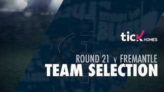Team Selection | Round 21