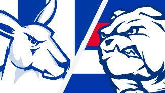 Highlights: North Melbourne v Western Bulldogs