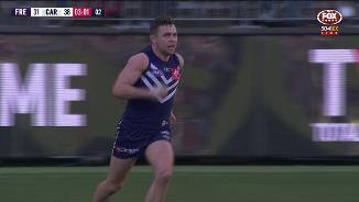 Ballantyne gets the Freo faithful up