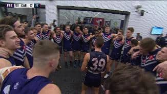Team song: Fremantle