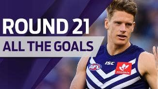All the goals: Round 21 v Carlton
