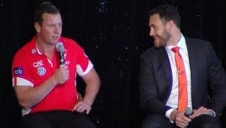 Sydney Derby Lunch: Johnson & Mumford