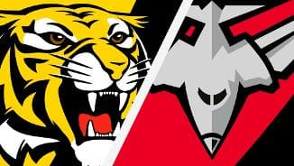 Highlights: Richmond v Essendon