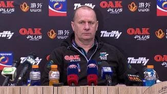 Ken Hinkley press conference - 18 August 2018 - PTV