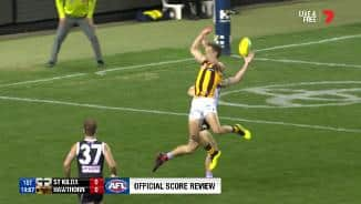 Was this Gunston goal touched?