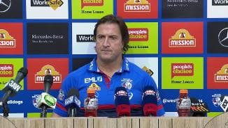 Post Match | Beveridge Press Conference (Rd23)