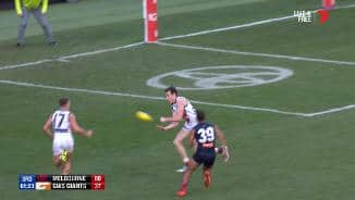 Giants comedy capers as goal goes begging