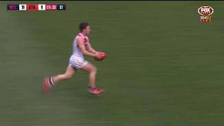 Angus Brayshaw produces a cool and collected finish