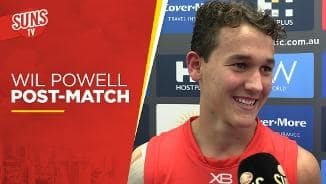 SUNS TV: Wil Powell post-match